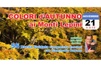 55° Uscita Guidata: Colori d'Autunno ai Monti Lepini