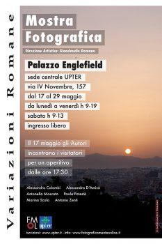 """Mostra """"Variazioni Romane"""" dal 17 Maggio 2019: brindisi con gli Autori"""